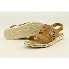 Born Faina Women US 7 Tan Sandals Blemish  12952
