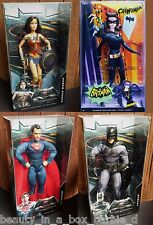 Wonder Woman Barbie Doll Catwoman Batman Superman Super Hero Dawn Justice Lot 4X