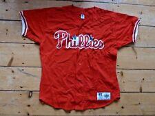 Philadelphia Phillies MLB Official Baseball Jersey Shirt size 48 (size large)