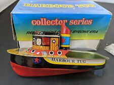 Harbour Tug Antique Reproduction Tin Toy Made in India Real Steam Model