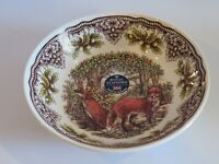 Royal Stafford England Woodland RED FOX  Soup Cereal Bowl - NEW