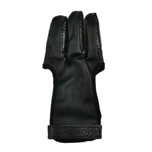 3 Fingers Hand Guard Protable Reliable Useful Black+Brown For Hunting Reliable