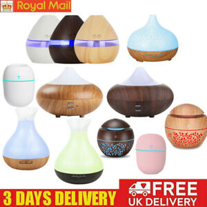 LED Ultrasonic Air Diffuser Aromatherapy Essential Oil Aroma Purify Humidifier