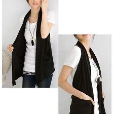 Solid Regular Size Vests for Women
