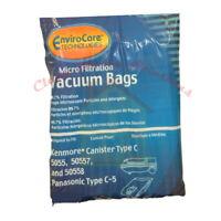 Kenmore 5055 50557 50558 Vacuum Bags Type C & Q Micro Filtration