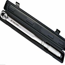 """1/2"""" DRIVE HIGH RANGE TORQUE WRENCH 50-250FT/LB 70-350NM RATCHET IN CASE SS031"""