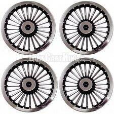 "NEW 8"" Golf Cart Wheel Covers Hub Caps EZGO (Set of 4)"