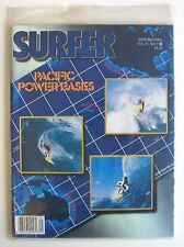 Vintage NOS Surfer Magazine Vol. 27 No. 9 Sept 1986 Surfing Sealed Surfboard