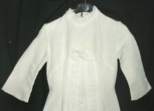 Superbe petite robe de mariée - linge ancien