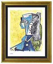 """Pablo Picasso Signed/Hand-Numbrd Ltd Ed """"Sylvette David """" Litho Print (unframed)"""