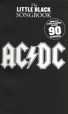 ACDC LITTLE BLACK SONG BOOK 90 SONGS CHORDS LYRICS GUITAR PIANO AC/DC SONGBOOK