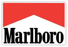 Marlboro adesivi adesivo etichetta sticker 13cm x 9cm