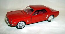 1/32 1964-1/2 FORD MUSTANG HARDTOP COUPE-red/red