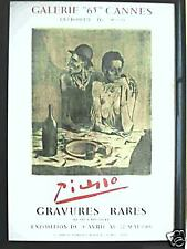 PICASSO IN CANNES LE REPAS FRUGAL LISTED CZWIKLITZER 91