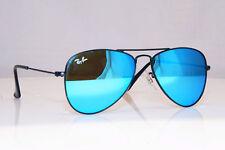 51ef030d078b4 Ray-Ban Junior Niños Niñas Azul Gafas de sol espejo aviador RJ 9506 201 55  17699
