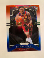 2019-20 Panini Prizm Kevin Porter Jr. Red White Blue Prizm SP Rookie Card #274