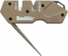 Smith's Pp1 Mini Tactical Knife Sharpener Straight & Serrated, Desert Tan #50983