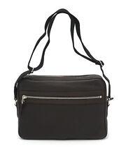 Dunhill BrownLeather Messenger Bag L3C369B