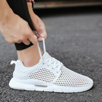 Men's Sneakers fashion Super Casual Shoes Breathable Athletic Running Jogging