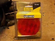 1983 Honda GL650 GL 650 Silverwing Red Round Stick On Motorycle Reflector