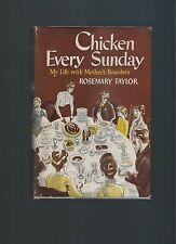 Chicken Every Sunday Rosemary Taylor First Edition First Printing Book Into Film