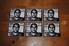 Lot of 6  Shepard Fairey Obey Giant OG Andre Has A Posse Stickers The Giant