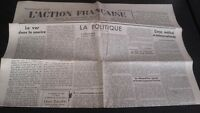 Journal Nationalist L Action Figure French 7 May 1934 N° 127 ABE