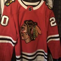 AUTHENTIC ADIDAS ADIZERO NHL JERSEY CHICAGO BLACKHAWKS BRANDON SAAD #20