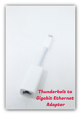 Apple Genuine Thunderbolt to Gigabit Ethernet Adapter MD463LL/A Model A1433 USED