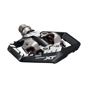 NEW Shimano Deore XT PD-M8120 Mountain Bike Clipless Pedals Black/Silver