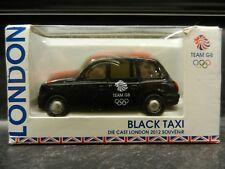 CORGI *2012 London Olympics* BLACK TAXI *TEAM GB GREAT BRITAIN* NIB!