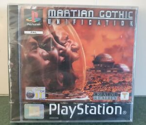 Martian Gothic Unification. Playstation.  New and sealed!