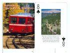 "Single Scenic Railroad Wide Playing Card ""Manitou & Pike's Peak Railway, RR"""