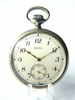 VTG DOXA Art Deco Pocket Watch Ancre De Precision 15 Rubis, Swiss