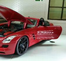 G 1:24 Escala Mercedes SLS AMG Exotics Roadster 31370 Maisto
