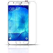 2x Samsung Galaxy S6 SCHERMO SOTTILE TRASPARENTE ANTI GRAFFIO LCD Protector Pellicola