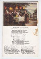 AK Studentika, Trink, trink, Brüderlein trink 1929 A. Volkhofen