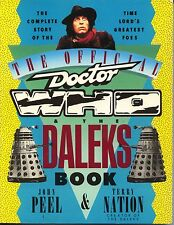 The Official Doctor Who & the Daleks Book Softcover John Peel Terry Nation