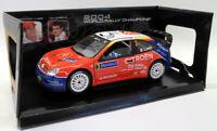 Solido 1/18 Scale Diecast - 9054 Citroen Xsara Tour de Corse 2004 Signed