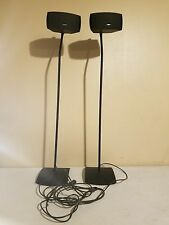 Bose AV3-2-1 Cinemate Style Stereo Surround Sound Speakers With Stands (Pair)