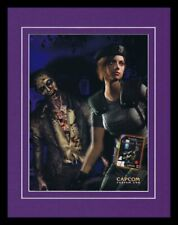 Resident Evil 2002 Gamecube 11x14 Framed ORIGINAL Vintage Advertisement