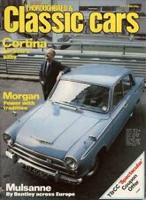 July Monthly Cars, 1980s Transportation Magazines in English