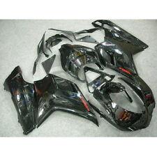 Black INJECTION ABS Fairing Body Work Kit For DUCATI 1098 848 1198 07-12 08 09