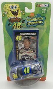 2004 #48 Jimmie Johnson 2003 Spongebob 1/64 Racing Champions NASCAR Diecast