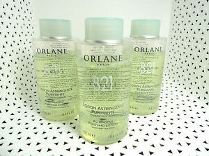 3 Orlane B21 ASTRINGENT PURIFYING LOTION Mixed Oily Skin 8.4 oz each - NEW *