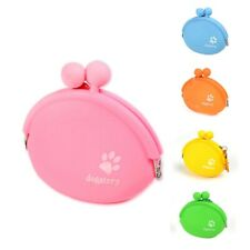 Puppy Dog Treat Bags Pouch Outdoor Pet Training Carries Bag Silicone Snack Bag