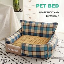 Bed Dog Pet Soft Cat Warm Calming Washable Nest Sofa Foam Sleeping Puppy Cushion