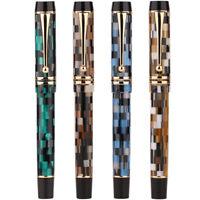 New Moonman M600 - M600S Acrylic Resin Fountain Pen Gift Pen, Fine Nib 0.5mm