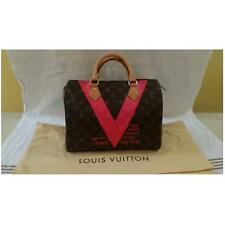 Louis Vuitton LV Monogram V Speedy 30 Grenade Limited Edition Handbag M41533