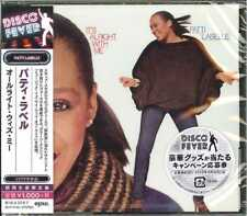 PATTI LABELLE-IT'S ALRIGHT WITH ME-JAPAN CD Ltd/Ed B63